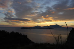 View this image in original resolution: Ischia e Procida al Tramonto
