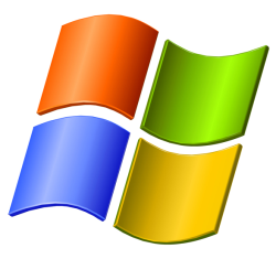 View this image in original resolution: Logo Windows XP